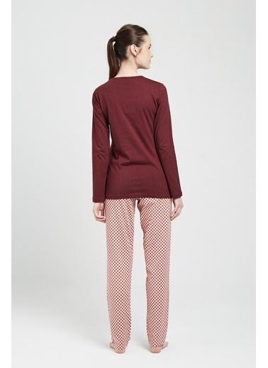 U.S. Polo Assn. Pijama Takım Mürdüm